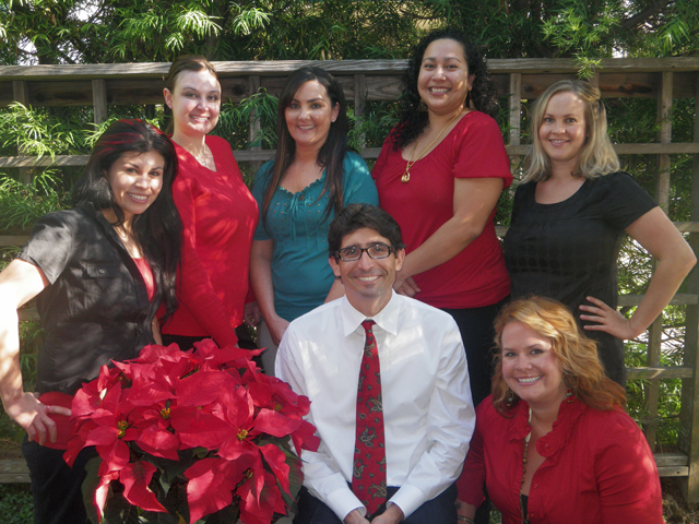 Dr. Matiasevich & Staff, Christmas 2010